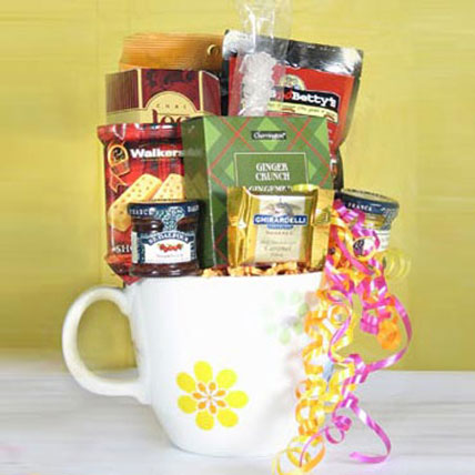Bursting Gift Basket