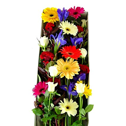 Seasonal Mixed Flowers in an Exquisite Presentation Box