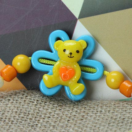 Cute Little Teddy Rakhi BEL