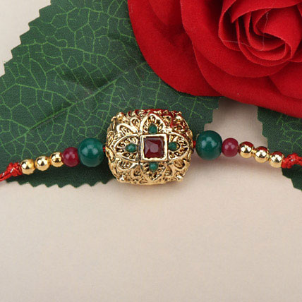 Traditional Antique Rakhi BEL