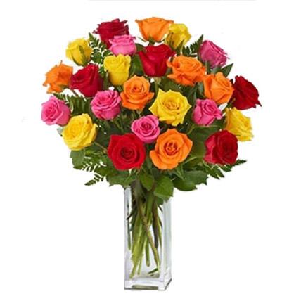 24 Mix Roses