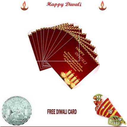 Diwali Cards Pack of 10 Cards