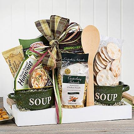 Soups On Basket