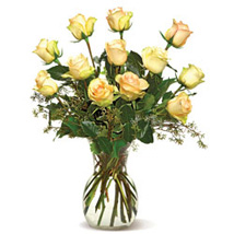 Send easter gifts to canada easter gift delivery in canada a dozen cream roses cnd easter gifts to canada negle Choice Image