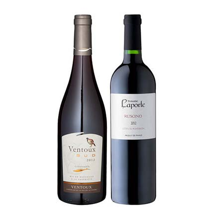 2 Bottles of French Fruity Wine