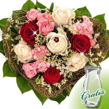 Flower Bouquet Herzlichkeit