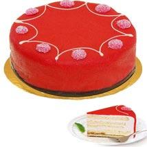 Dessert Raspberry Cake: Friendship Day