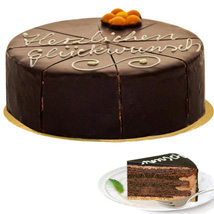 Dessert Sacher Cake: Anniversary Cakes to Germany