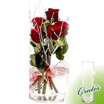 Flower Arrangement Rosenspiel: Flowers & Chocolates to Germany