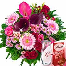 Flower Bouquet Eleganz: Send Birthday Gifts to Stuttgart