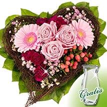 Flower Bouquet Herzenswunsch: Roses