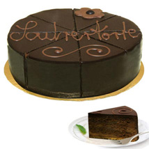 Wonderful Dessert Sacher Cake: Send Birthday Cakes to Stuttgart