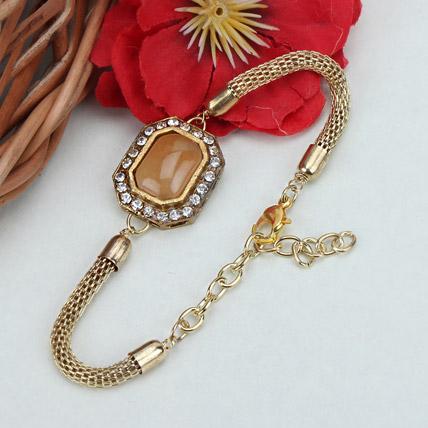 Precious Wishes Bracelet Rakhi KUW