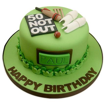 50th Birthday Cake 1kg