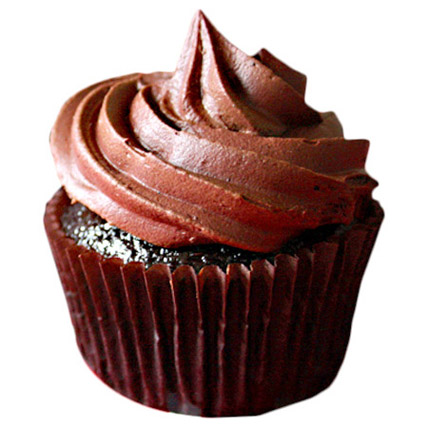 6 Chocolate Cupcakes by FNP