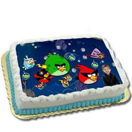 Adorable Angry Birds with personlised face 4kg