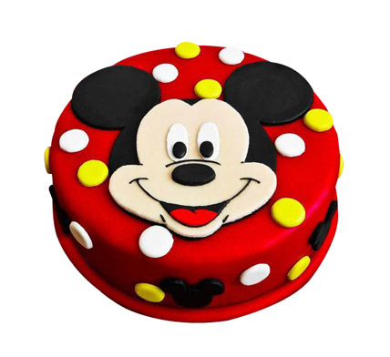 Adorable Mickey Mouse Cake 1kg Gift Mickey Mouse Cartoon
