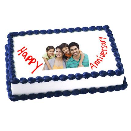 Anniversary Photo Cake 3kg