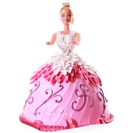 Baby Doll Cake 3kg Vanilla Eggless