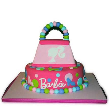 Barbie Cake in Style 4kg Eggless