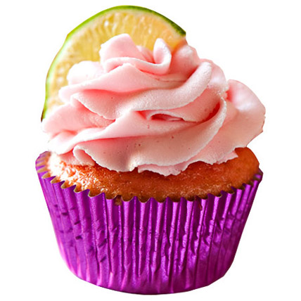 Beauty Strawberry Cupcakes 6 Eggless