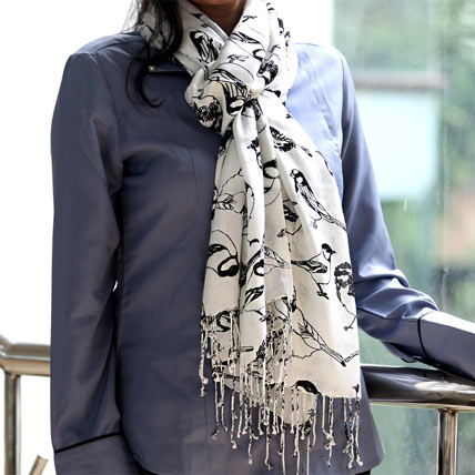Black and White Stole