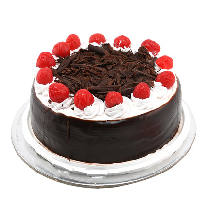 Black Forest with Cherry 1kg Eggless
