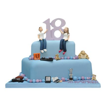 Blue Delight Birthday Cake 5kg