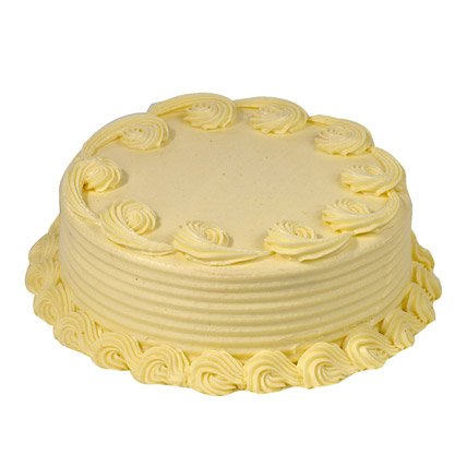 Butter Cream Pineapple Cake Half kg Eggless