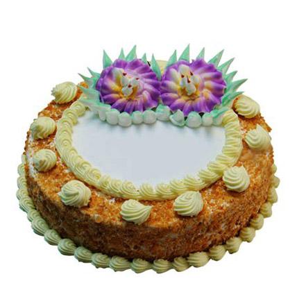 Butterscotch Radiance Cake Half kg