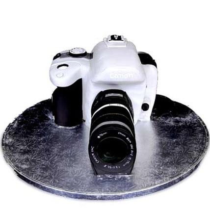 Canon Flashy Camera Cake 5kg Eggless