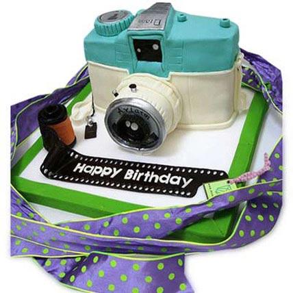 Catchy Camera Cake 3kg