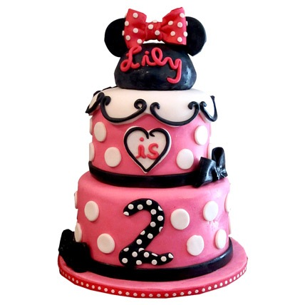 Charming Minnie Mouse Cake 6kg Eggless