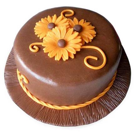 Chocolate Orange Cake 1kg Eggless
