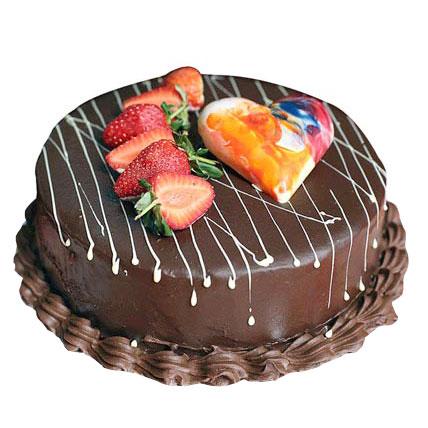 Chocolate Strawberry Cake 1kg