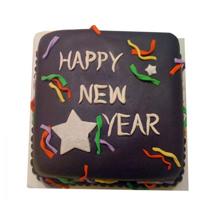 Chocolaty New Year Cake 2kg