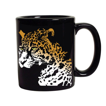 Coffee with Cheetah Mug