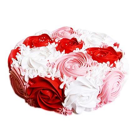 Colorful Rose Cake 2kg