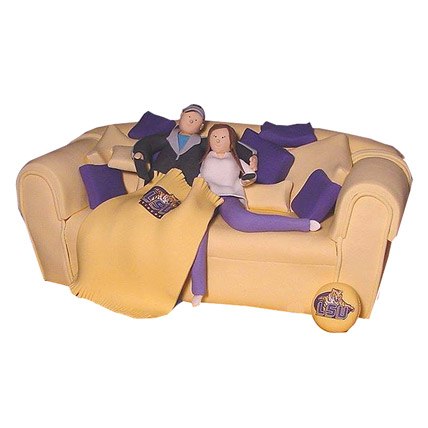 Couple on Couch Cake 3kg