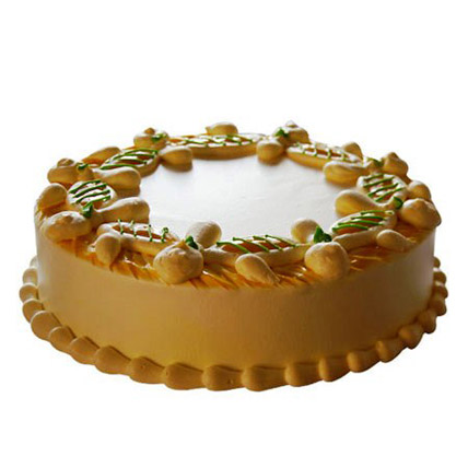 Creamy Sphere Cake 1kg Vanilla Eggless