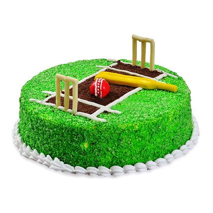 Cricket Pitch Cake 1kg