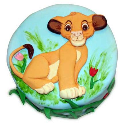 Cute Simba cake 3kg