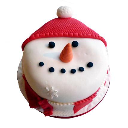 Cute Snowman Cake 2kg