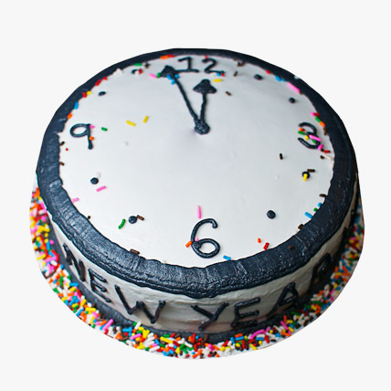 Dazzling New Year Cake 2kg