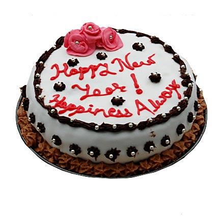 Decorative New Year Cake 1kg