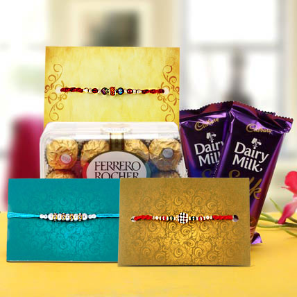 Delectable Rakhi Gift