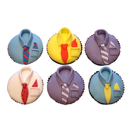 Designer Cupcakes For Dad 24