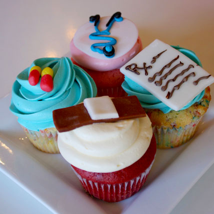 Doctors drool Cupcakes 6 Eggless
