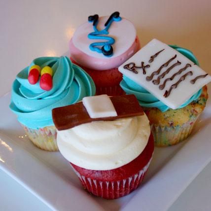 Doctors drool Cupcakes 6