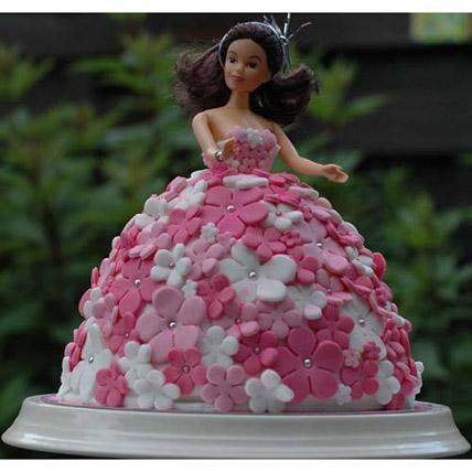 Doll Shape Cake 2kg Vanilla